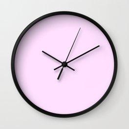 Pastel Violet Wall Clock