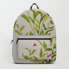 Watercolour Weigela Backpack