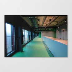 2007 - Human Built Emptiness Canvas Print