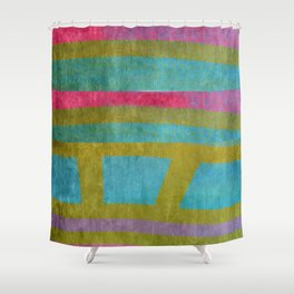edging II Shower Curtain