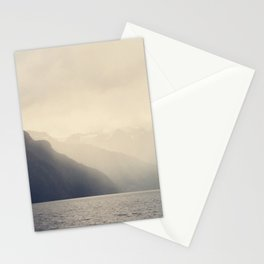 Foggy Fjord, North Sea Stationery Cards