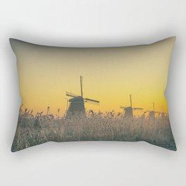 Sunrise at Kinderdijk III Rectangular Pillow