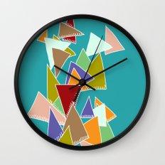 Triads Triads Triads Wall Clock