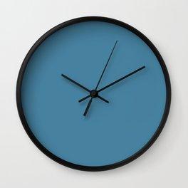 Steel Blue Wall Clock