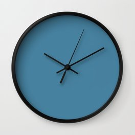 Steel Blue Wall Clock