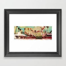 Harper's Garage Framed Art Print