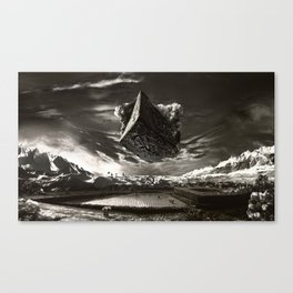 Hammer To Fall Canvas Print