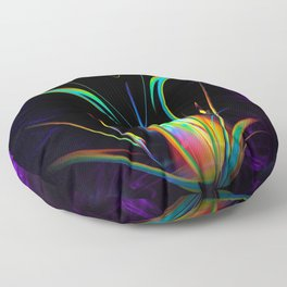 Abstract in Perfection - Light and Energy 2 Floor Pillow