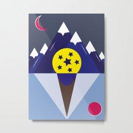 Surreal Ice Cream Metal Print