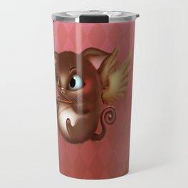 Cupid Kitty Travel Mug