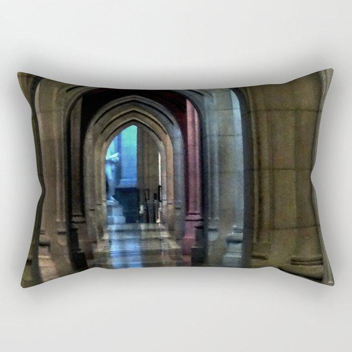Washington National Cathedral, D.C. Rectangular Pillow