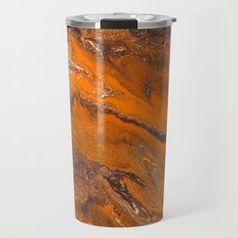 Amber Fire Travel Mug