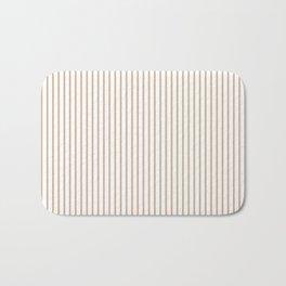 Hazelnut Stripes Bath Mat