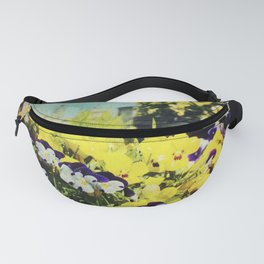 Behind the flowers Fanny Pack