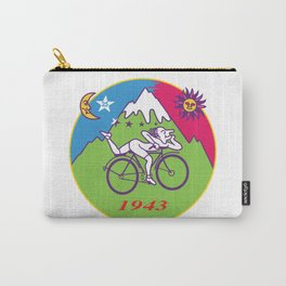 Albert Hofmann Bicycle Day LSD 1943 Circle Carry-All Pouch