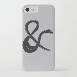 ampersssssand iPhone Case
