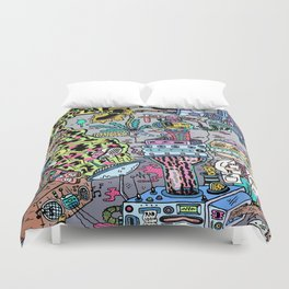 How It's Made: Skateboard Edition Duvet Cover
