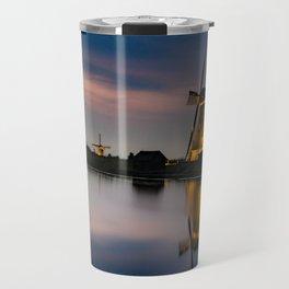 Dutch Wind Mills Travel Mug