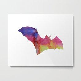 Bat Metal Print
