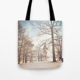 Winter Trees. Tote Bag