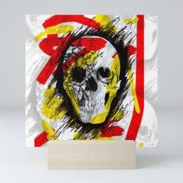 Punk Skull Mini Art Print