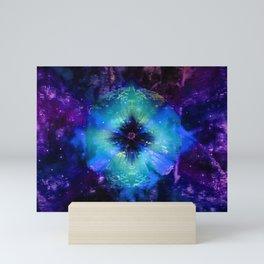 Dark flower Mini Art Print