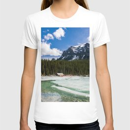 Canoeing in the Mountains T-shirt