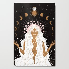 Summer Solstice Moon Goddess Cutting Board