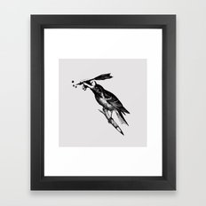 The Experimetal Artist Framed Art Print
