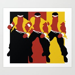 Luke Cage Art Print