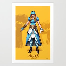 Alice's Creed Art Print