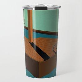 swimming death Travel Mug