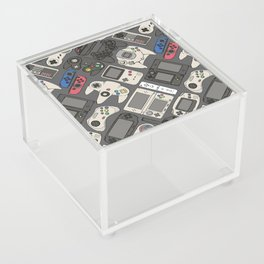 Video Game Controllers in True Colors Acrylic Box