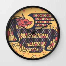 Dragon Boy Wall Clock