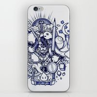doodle iPhone & iPod Skins featuring Doodle by Puddingshades