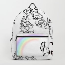Time To Be A Unicorn Backpack