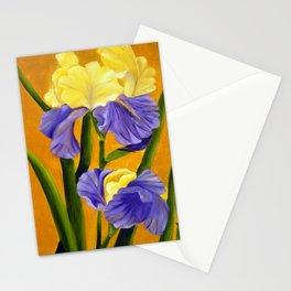German Bearded Iris Stationery Cards