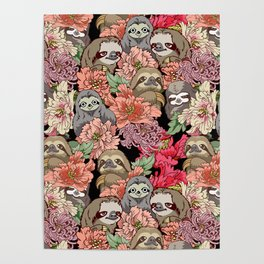 Because Sloths Poster