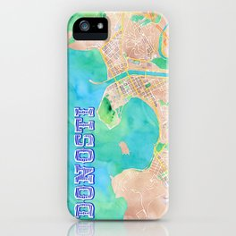 Donosty Watercolor iPhone Case