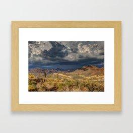 The Extremes Framed Art Print