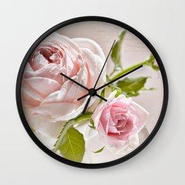 Romantic Recipe  Wall Clock