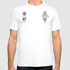 Good or Bad? MEDIUM Mens Fitted Tee White