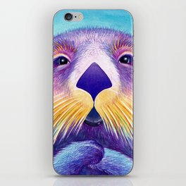 Otter Face to Face iPhone Skin
