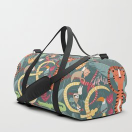 Rain forest animals 003 Duffle Bag