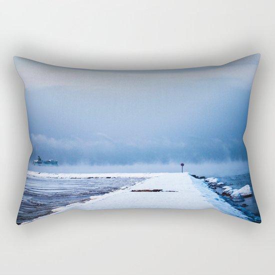 Snow winter 4 Rectangular Pillow