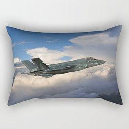 Flight of the Reaper Rectangular Pillow