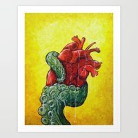 You hold my heart Art Print