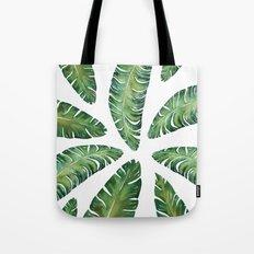 Tropical Banana Leaves #society6 #buyart Tote Bag