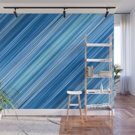 Ambient 1 in Blue Wall Mural