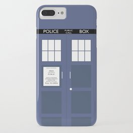 Smaller On The Outside Tardis iPhone Case